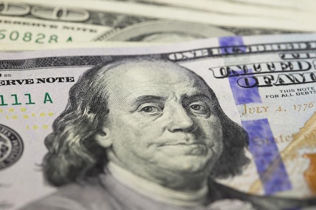 Gros plan dolar