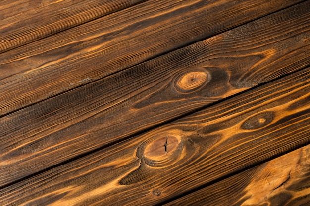 Gros plan du bois