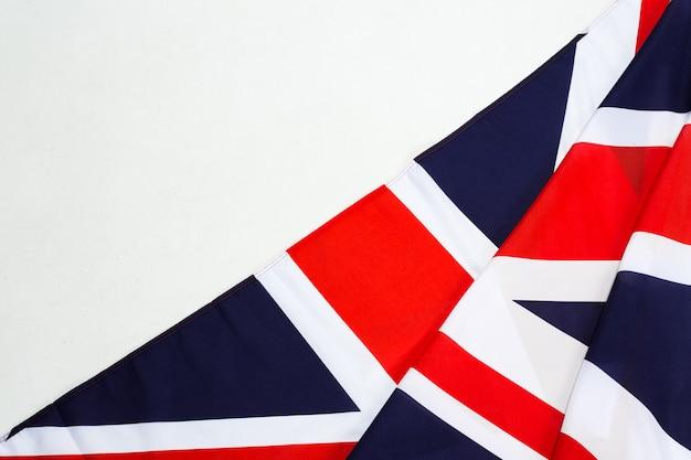 Gros plan du drapeau union jack