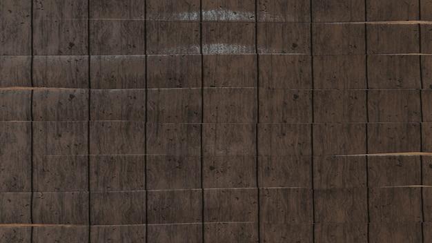 Gros plan du mur fait de planches de bois
