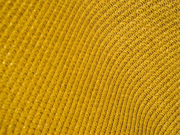 Gros plan du tissu coloré