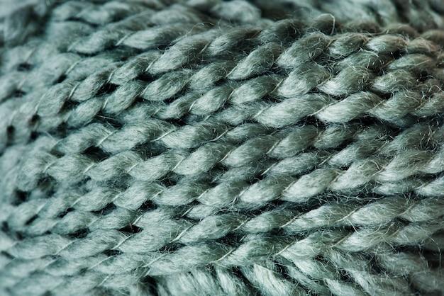 Gros plan du tissu de laine