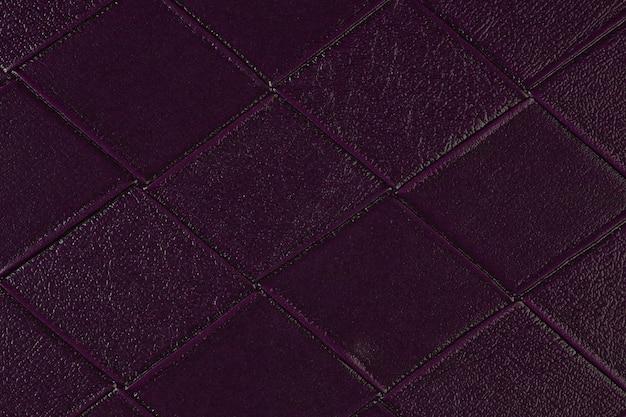 Gros plan de l'échantillon de cuir artificiel