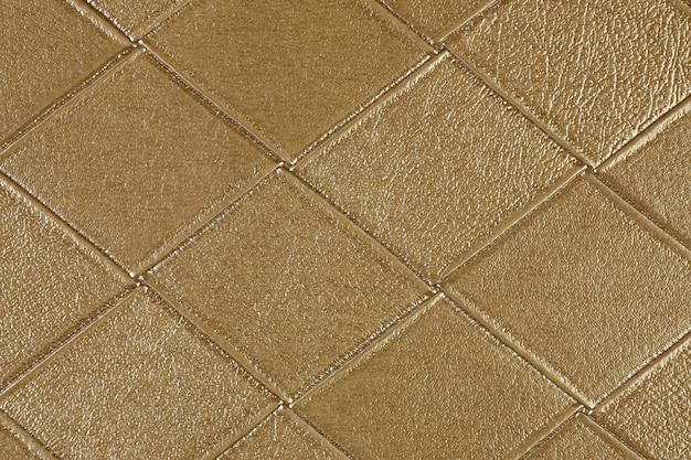 Gros plan de l'échantillon de cuir texturé artificiel