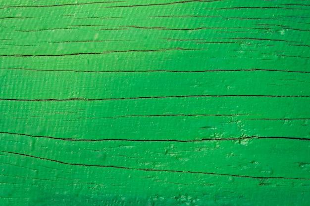 Gros plan de fond bois vert grunge. texture en bois. surface