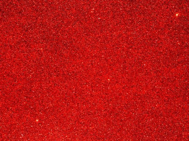 Gros plan de fond de paillettes rouges