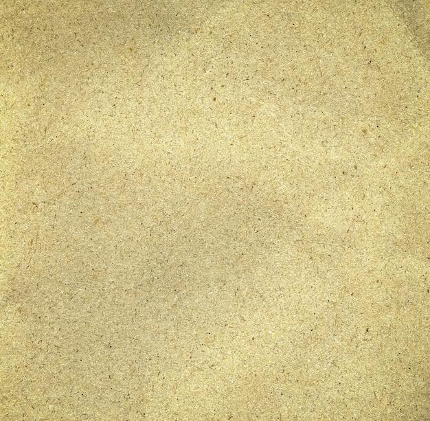 Gros plan sur fond de papier kraft brun