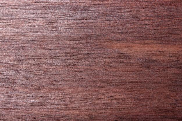 Gros plan de fond de plancher en bois rouge et noir