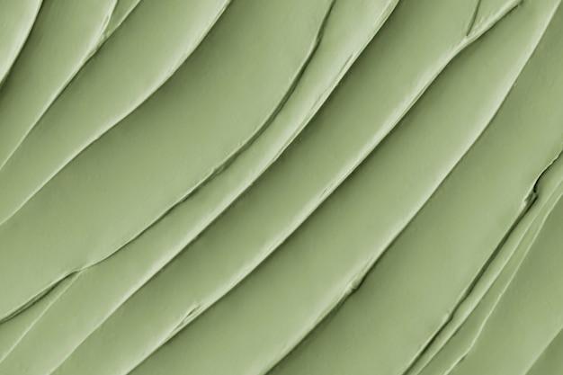 Gros plan de fond de texture de glaçage matcha