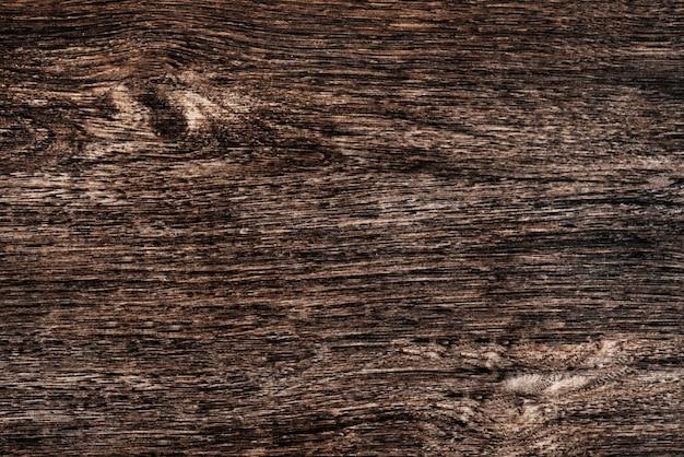Gros plan d'un fond texturé de plancher en bois marron