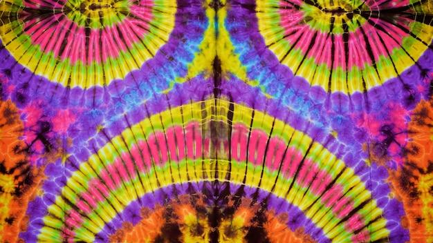 Gros plan de fond de texture tissu tie dye