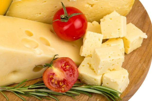 Gros plan de fromage