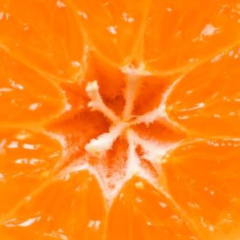 Gros plan, de, fruit orange