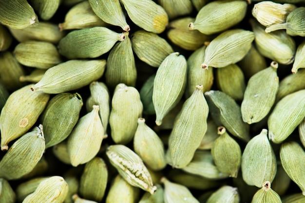 Gros plan de graines de citrouille