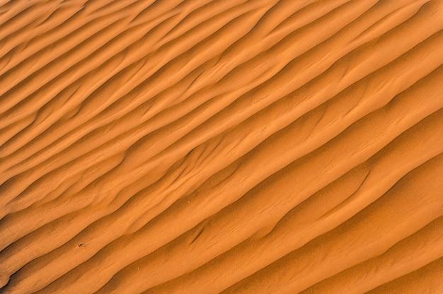 Gros plan image de fond de texture de sable magnifique