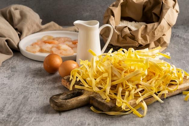 Gros plan sur les ingrédients des repas riches en protéines