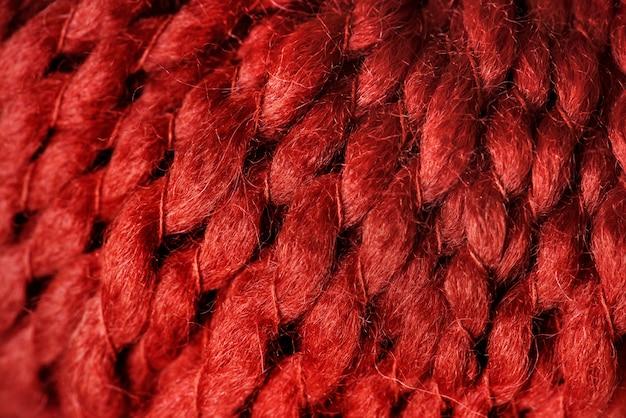 Gros plan de laine