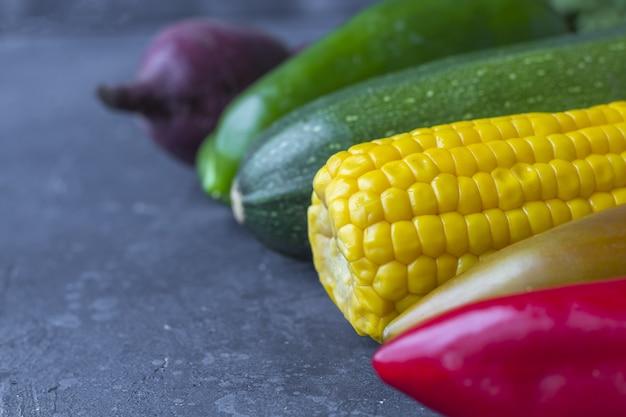 Gros plan de légumes assortiment.