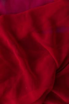Gros plan, lisse, tissu rouge