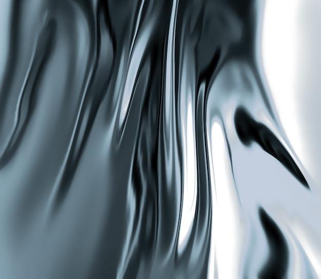 Gros plan de métal liquide en arrière-plan