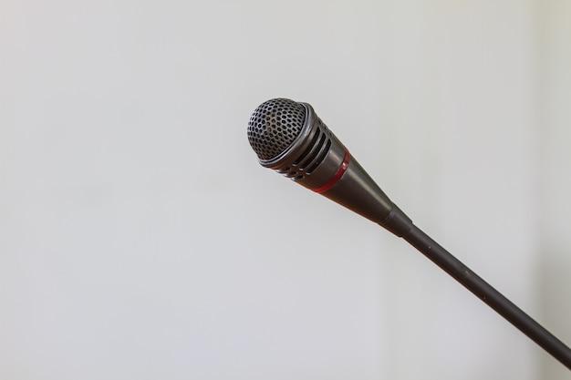 Gros plan, microphone