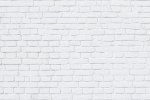 Gros plan, de, a, mur brique blanc