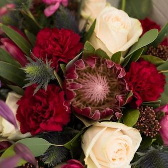 Gros plan, naturel, beau, fleur, bouquet