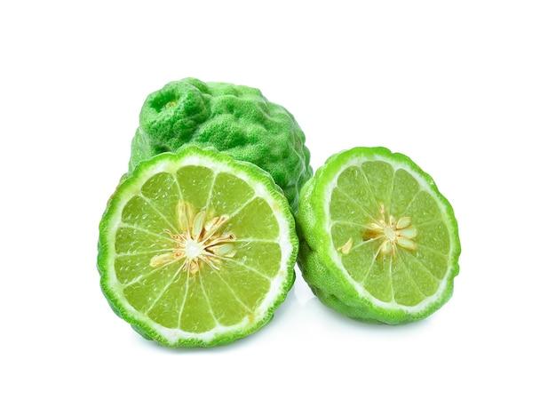 Gros plan, de, oranges bergamote