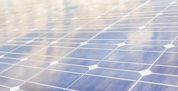 Gros plan panneau solaire