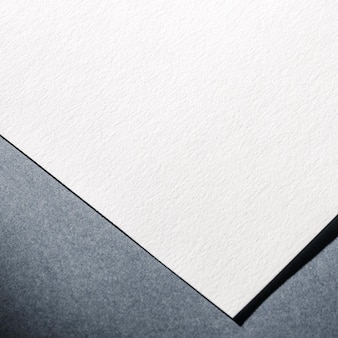 Gros plan de papier blanc texturé