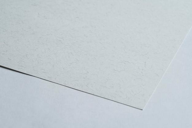 Gros plan de papier non embelli