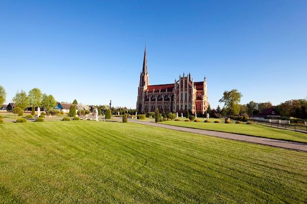 Gros plan photographié d'un édifice religieux de la confession de foi chrétienne
