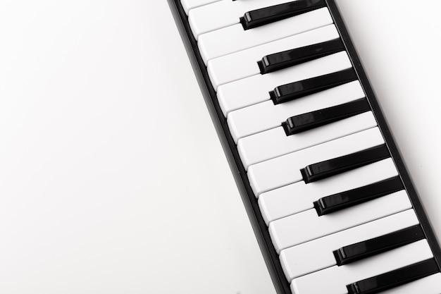 Gros plan, piano, clavier