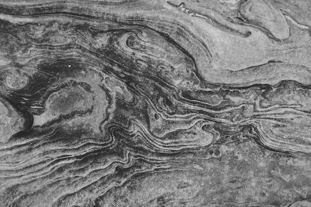 Gros plan d'une pierre grise abstraite