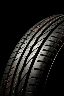 Gros plan des pneus