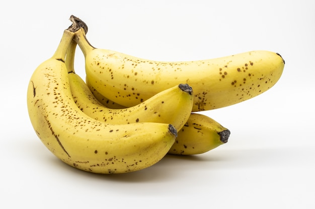 Gros plan d'un régime de banane