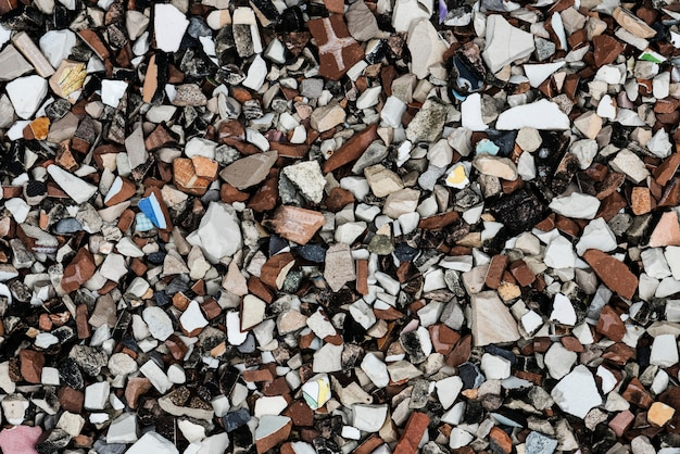 Gros plan de roches fond texturé