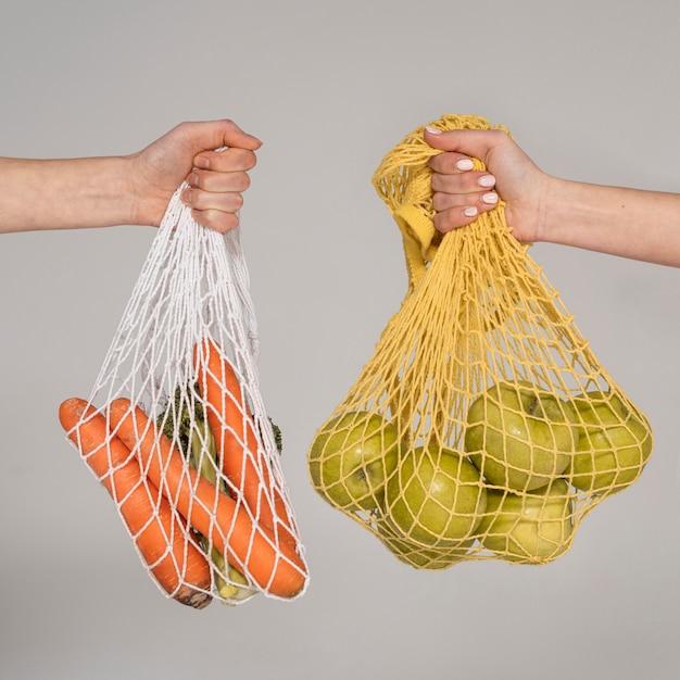 Gros plan des sacs de tortue