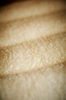 Gros plan de serviettes blanc pur