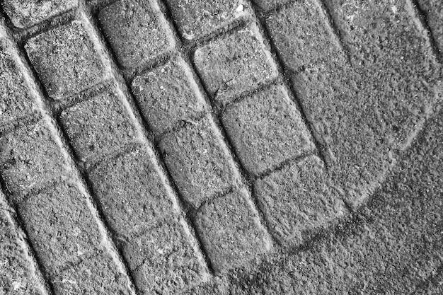 Gros plan de surface métallique abstraite