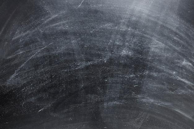 Gros plan d'un tableau noir vide
