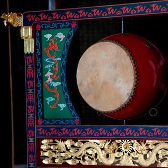 Gros plan, tambour, shanghai, porcelaine