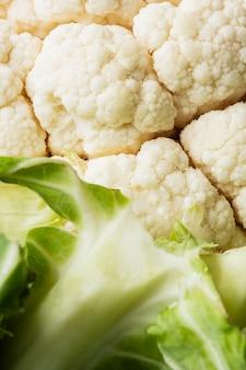 Gros plan de texture des aliments nutritifs