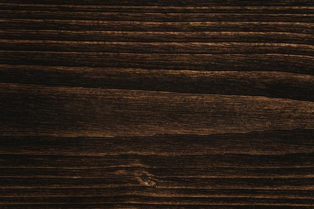 Gros plan de la texture du bois brun foncé avec scène de motif à rayures naturelles