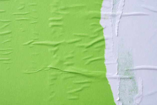 Gros plan de la texture du papier grunge
