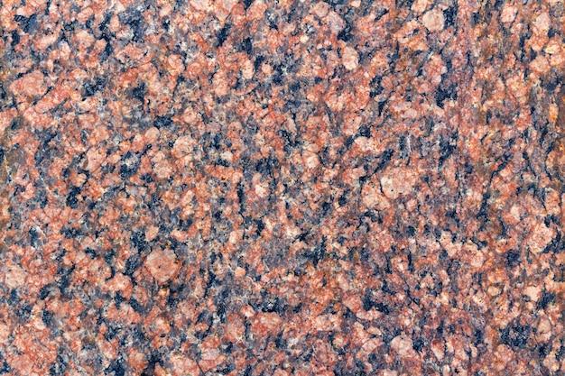 Gros plan de texture de granit. texture de pierre de granit naturel