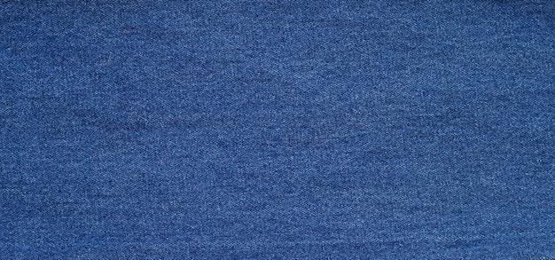 Gros plan de la texture des jeans bleus