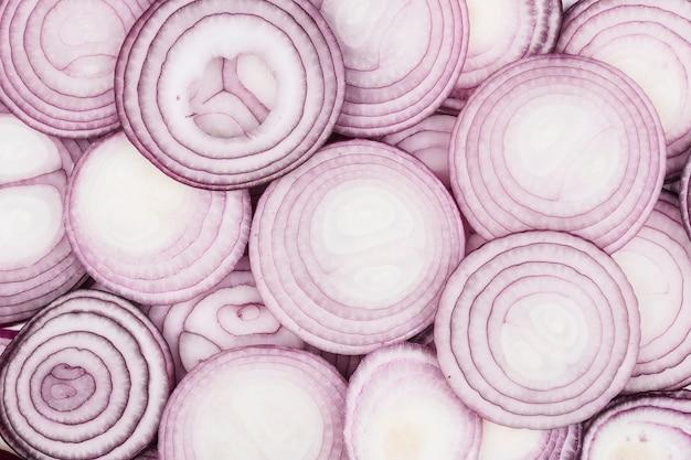 Gros plan texture d'oignon
