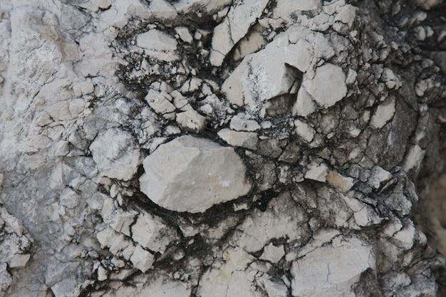 Gros plan de texture de pierre