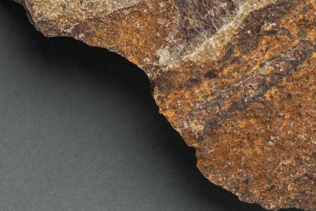 Gros plan de la texture de la pierre